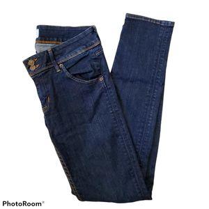 Hudson Collin Skinny medium wash jeans size 28